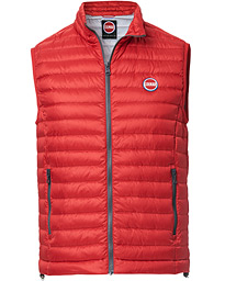 Colmar Lightweight Down Vest Red