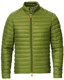 Save The Duck Lightweight Padded Jacket Caper Green