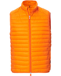 Save The Duck Lightweight Padded Vest Orange Peel