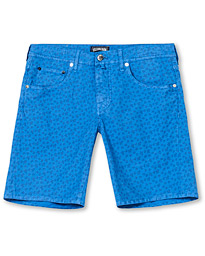 Vilebrequin Printed Tortoise 5-Pocket Shorts Blue