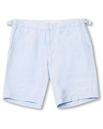 Norwich Linen Shorts Pale Sea Breeze
