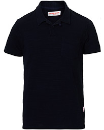Putnam Garment Dyed Polo Navy