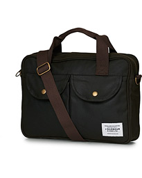 Barbour Lifestyle Longthorpe Laptop Bag  Olive
