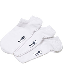 NN07 3-Pack Sneaker Socks White