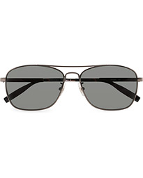 MB0026S Meisterstück Sunglasses Ruthenium/Grey