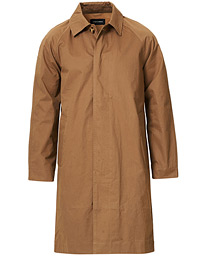 A Day's March Classic Cotton Twill Car Coat Dark Sand