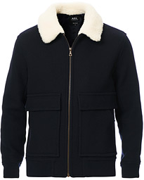 Bronze Blouson Jacket Navy