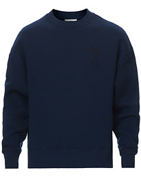 Tonal Heart Sweatshirt Navy