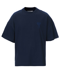 Tonal Heart T-Shirt Navy