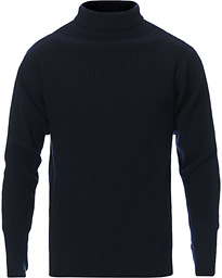 Sailor Turtleneck Navy Blue