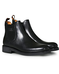 Brookly Chelsea Boot Black Calf
