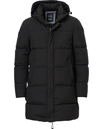Herno Laminar Long Down Coat Dark Grey