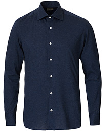 Soft Jersey Shirt Navy Melange