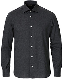 Soft Jersey Shirt Grey Melange