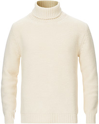 Heavy Knitted Rollneck Sweater Ivory