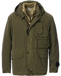 50 Fili Garment Dyed 2 in 1 Jacket Olive