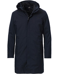 Black Storm Coat II Navy