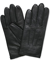 Hainz Leather Glove Black