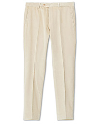 Rodney Corduroy Trousers Off White