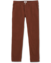 Marco Slim Fit Stretch Chinos Canela Brown
