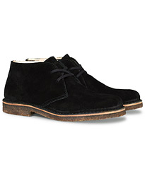 Greenflex Desert Boot Black Suede