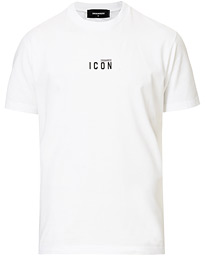 Dsquared2 Cool it Icon Small Logo Crew Neck Tee White