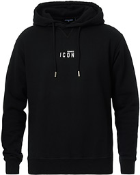 Dsquared2 Cool Fit Icon Small Logo Hoodie Black
