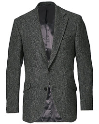 Edward Wool Donegal Blazer Grey