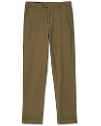 Milano Garment Dyed Chinos Forest Green