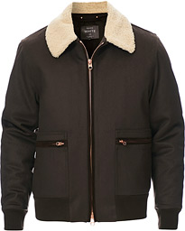 Luxury Flight Jacket Brown