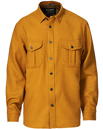 Northwest Wool Overshirt Mustard