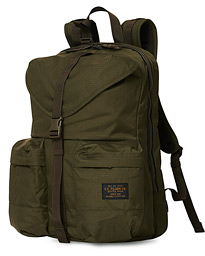 Ripstop Nylon Backpack Green