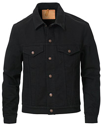 Classic Denim Jacket Rinsed Black