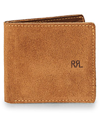 RRL Ranch Suede Billfold Brown Suede