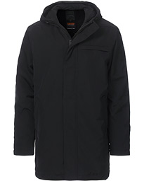 Black Eagle Long Lined Parka Jet Black