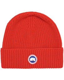 Arctic Disc Rib Toque Red
