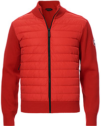 Hybridge Knitted Jacket Red