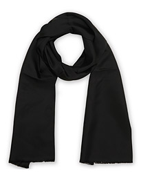 Ceremony Self Fringes Scarf Black