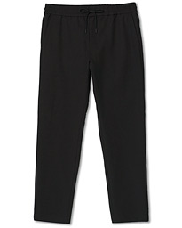 Technical Drawstring Trousers Black