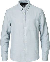Double Faced Button Down Shirt Glacier