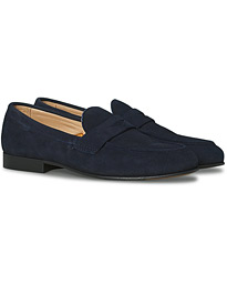 Klement Penny Loafer Marine Suede