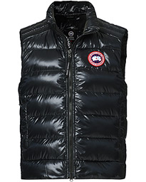 Crofton Lightweight Vest Black