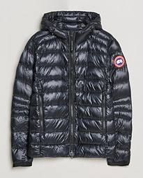 Crofton Lightweight Hooded Jacket Black