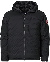 Lodge Hooded Jacket Black