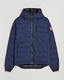 Lodge Hooded Jacket Atlantic Navy