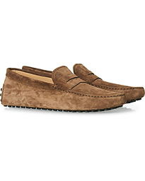 City Gommino Light Brown Suede