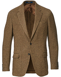 Herringbone Blazer Brown