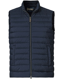 Nuage Matt Nylon Vest Deep Blue