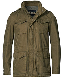 Cotton Field Jacket Military Green