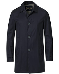 Loro Piana Storm System Coat Navy